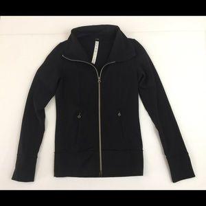 Lululemon Women's 4 Full Zip Front Jacket Black